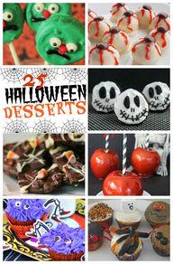 25 Halloween Dessert...