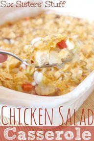 Hot Chicken Salad Ca