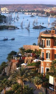 The Nile at Aswan, E