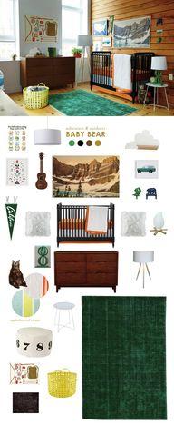 Baby Bear nursery -
