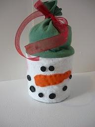 Snowman can