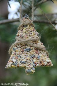 Birdseed ornaments r