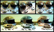 motorbike helmets...