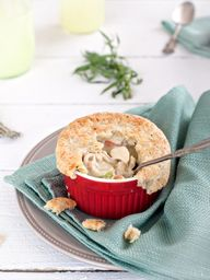 Chicken Pot Pie w/ P