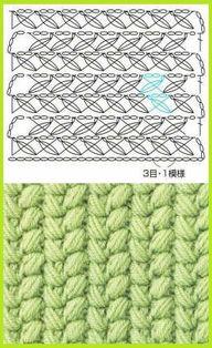 Crochet Stitch - Cha