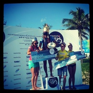 Podium Swatch Girls