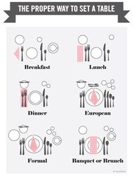 tablesetting | Tumbl