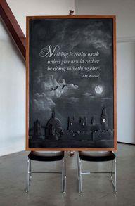 Amazing chalkboard a