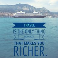 #Travel is the only