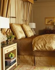 #Gold #Bedroom