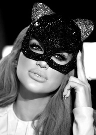 Love the cat mask
