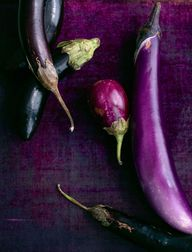 Eggplants by Maura M