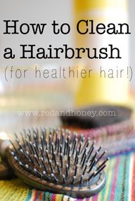 How to Clean a Hairb