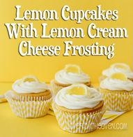 Lemon Cupcakes With
