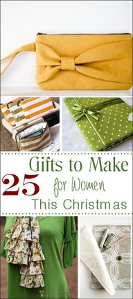 25 Gifts to Make for