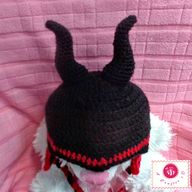 crochet maleficent b