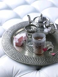 Moroccan style tea s...