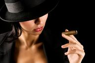 woman cigar - Google