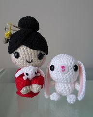 Chinese New Year amigurumi doll pattern