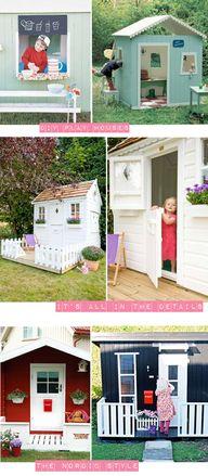 garden play houses -