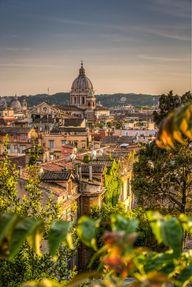 Roma from Villa Borg
