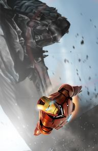 Iron Man by Mark Hen