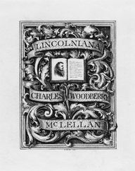 The bookplate, somet