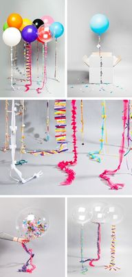 Creative balloons- w