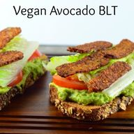 Vegan Avocado BLT -