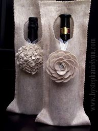 no sew wine bag