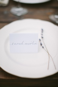 simple place card +