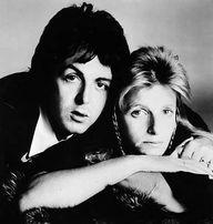 Linda y Paul McCartney