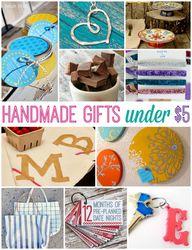 Handmade Gifts Under