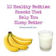 Healthy Bedtime Snac