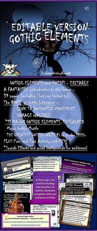 Fully EDITABLE: Goth