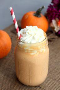 Caramel Pumpkin Milk