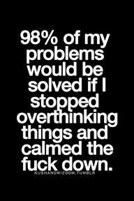 98% of my problems w