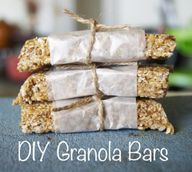 DIY Granola Bars!