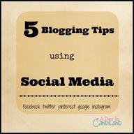 5 blogging tips usin