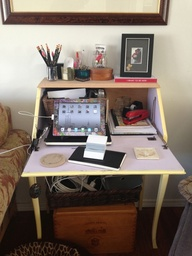 Secretary desk rehab