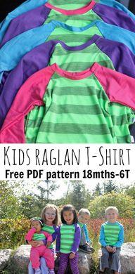 Free Raglan Shirt pa