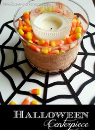 DIY Halloween Center