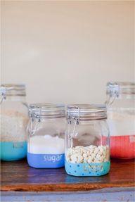 DIY Dipped Jars