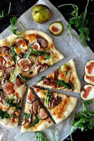 Roast Duck Pizza wit