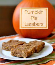 Pumpkin Pie Larabars