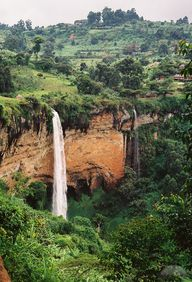Sipi Falls in Easter