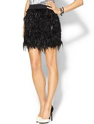 Feather party skirt...
