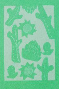 cactus motif sun pri