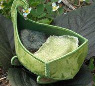 Fairy rocking cradle
