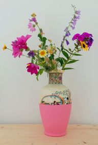 DIY vase dip